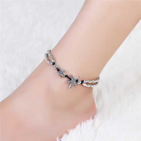 Vintage Bracelet Foot Jewelry Retro Anklet For Women