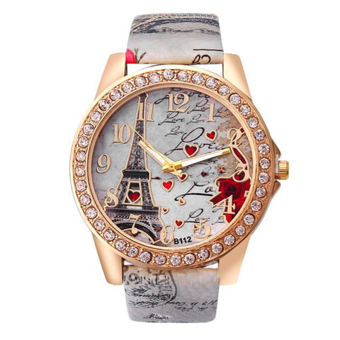 Women Luxury Rhinestones Quartz Wrist Watches