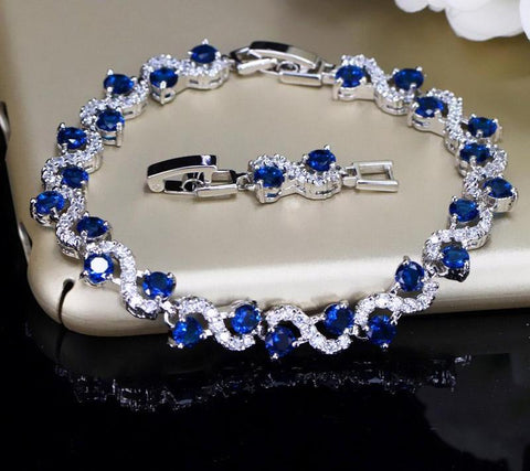 Royal Stone Bracelets Jewelry For Christmas Gift