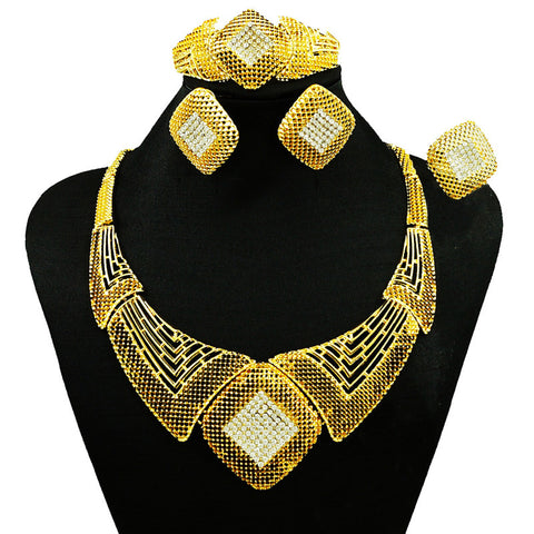 african jewelry sets jewelry accessories bridal jewelry sets WOMEN necklace  stone necklace WEDDING SETS