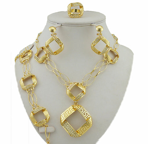 african big jewelry sets