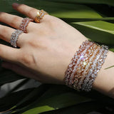 Adjustable Size Luxury Brand Bangle&Bracelets For Women
