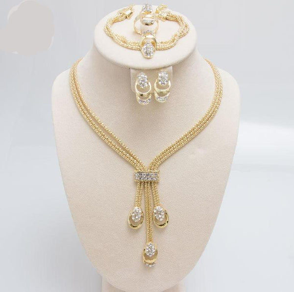 Latest Fashion Trendy Jewelry Set For Women