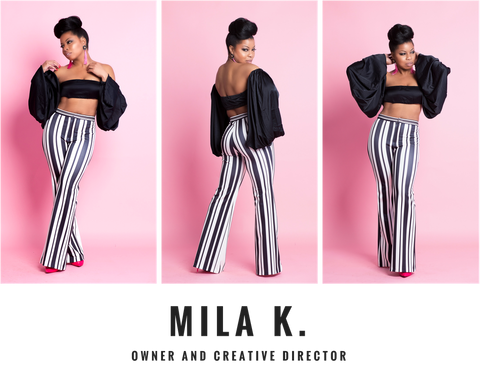 Meet Mila K. Owner and Creative Director