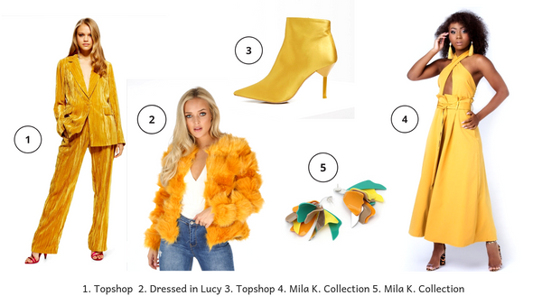 Shop Our Top Five Mustard Fashion Picks