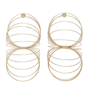 """Slinky"" Gold Spring Earrings"