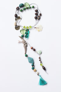 Goddess Garland - Wings Chrysocolla