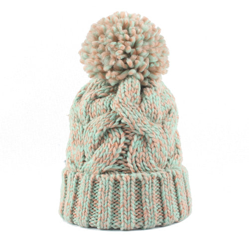 Striped Knitted Hat