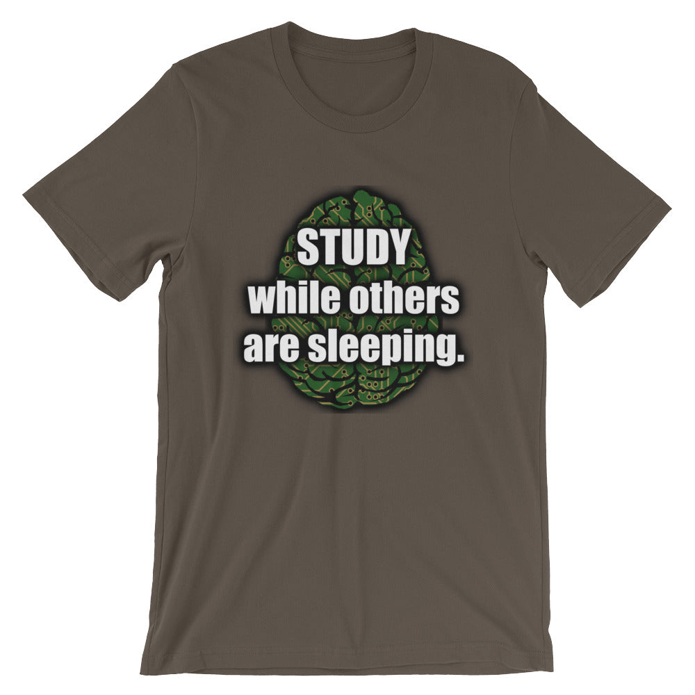 STUDY WHILE OTHERS ARE SLEEPING MEME SHIRT