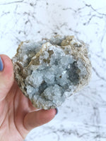 Celestite Cluster (Michigan)