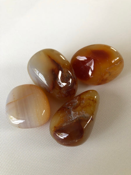 River Agate Tumbled Stone