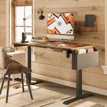 Load image into Gallery viewer, Height Adjustable Standing Desk with Storage Bag