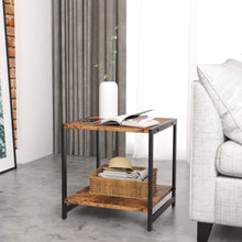 Load image into Gallery viewer, Industrial Small End Table