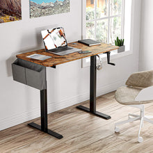 Lade das Bild in den Galerie-Viewer, Adjustable Height Desk with Crank Handle
