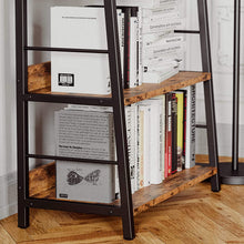 Load image into Gallery viewer, Vintage Industrial Ladder Bookshelf