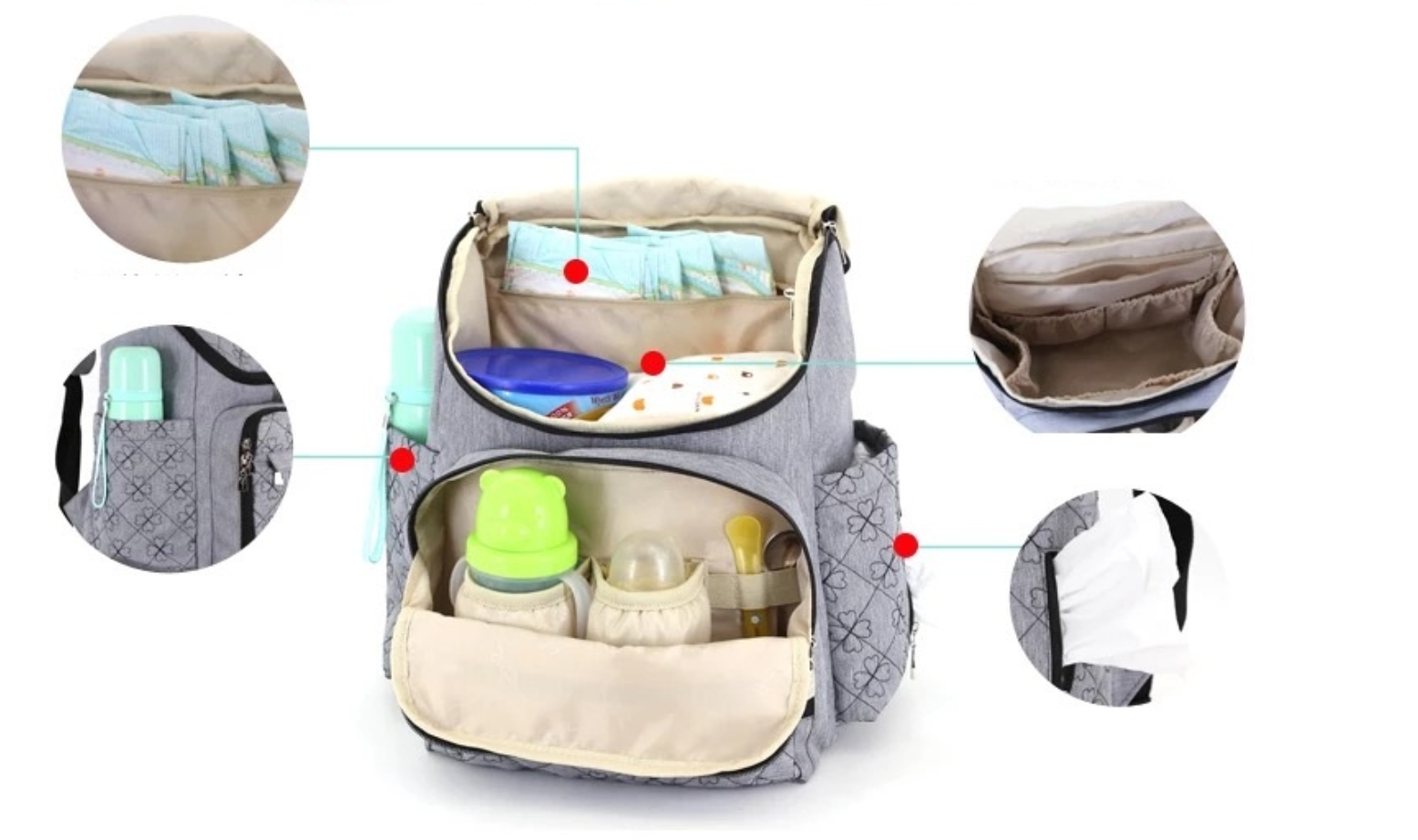 Nappy Changing Travel Bag