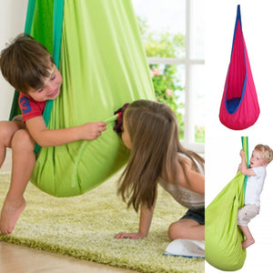 Hanging Hammock Swing Pod Chair for Kids