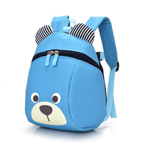 Cute Bear Rucksack with Safety Lead