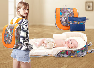 ALL IN ONE - Backpack and Baby Bed