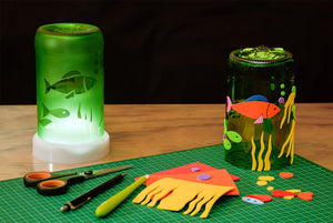 GLASS LAMP MAKING FOR TEENS