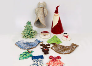 WORKSHOP | Ceramic Christmas decorations with Carys Martin