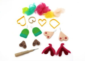 WORKSHOP | Felted Feminist Earrings with Lulu Geraghty