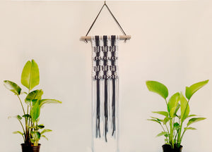 WORKSHOP | Two Tone Macrame Wall Hanging with Entwined Macrame