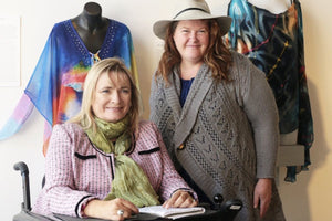 Nance Haxton and Carol Taylor discuss fashion for disability
