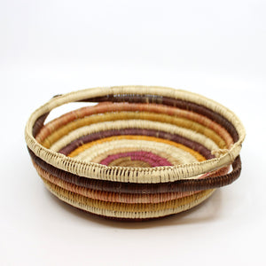 Injalak pandanus woven basket by Anita Nayinggul Fibre Art Injalak Arts & Crafts