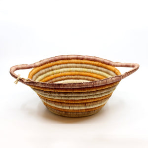 Injalak pandanus woven basket by Doreen Nayilibidj Fibre Art Injalak Arts & Crafts