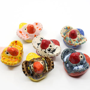 Small ceramic birds Sculpture & Art object Barbara George