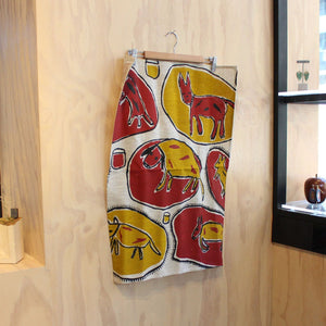 """Dogs"" Tea Towel Homewares Daisy Hamlot"