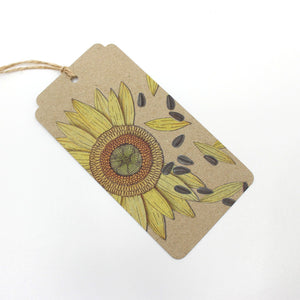 A Gift of Seeds Tag Stationery Sow 'n Sow Congratulations