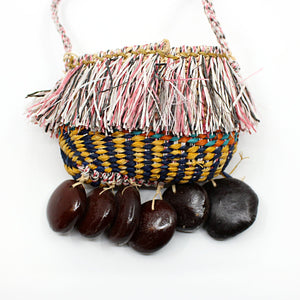 Bag with Long Strap Fibre Art MOA ARTS