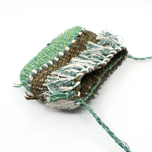 Bag in Green/Olive Fibre Art MOA ARTS