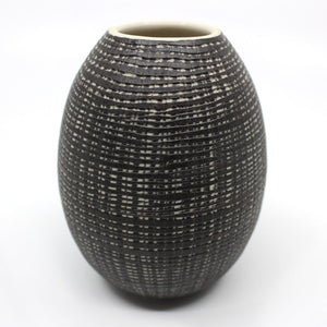 Black Inlay Vase Homewares Murray Topham