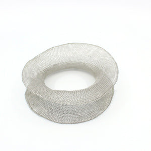 Stainless steel mesh bangle Jewellery Design Crop