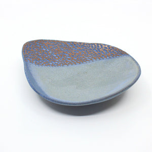 Small Australian stoneware tapas dish with hand-carved interior Ceramics Rose Jensen-Holm