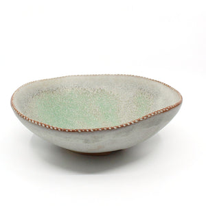 Ceramic Turquoise Serving Bowl Ceramics Rose Jensen-Holm