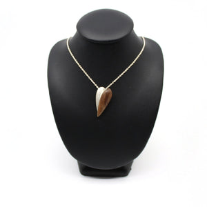 Tasmanian Fiddleback Blossom Necklace Jewellery Sarah Bourke