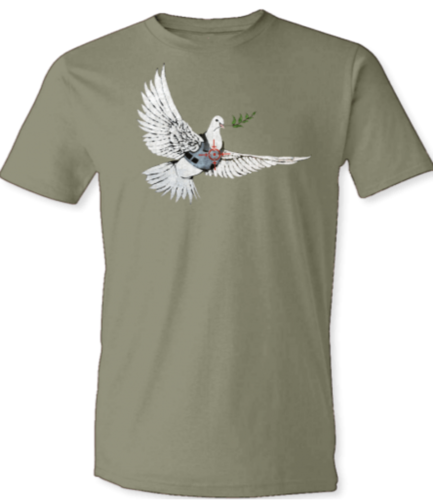 "Banksy ""Dove"" T-Shirt"