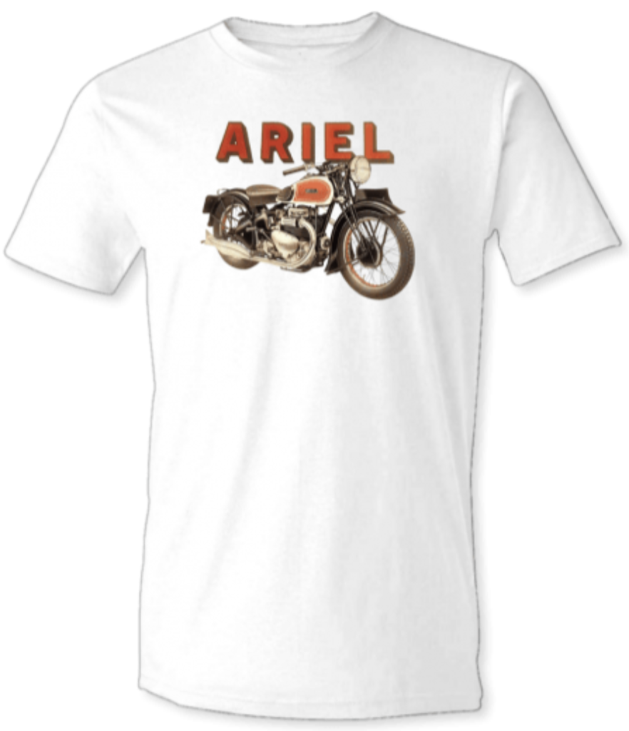Ariel Square Four T-Shirt