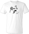 "Banksy ""Artist At Work"" T-Shirt"