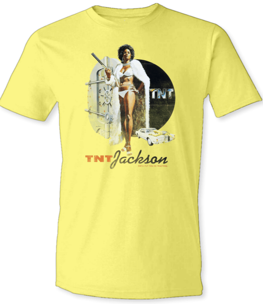 Printed T-Shirt Shop Unisex T-Shirt Small / Yellow TNT Jackson T-Shirt Stitch-Up Creative