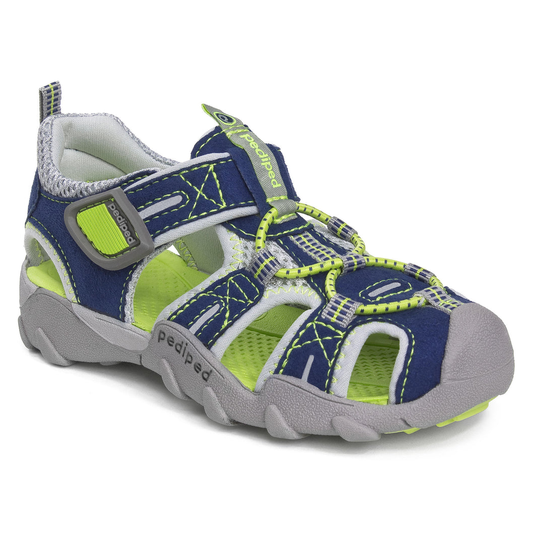 pediped flex canyon navy lime