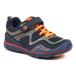 pediped flex force navy orange
