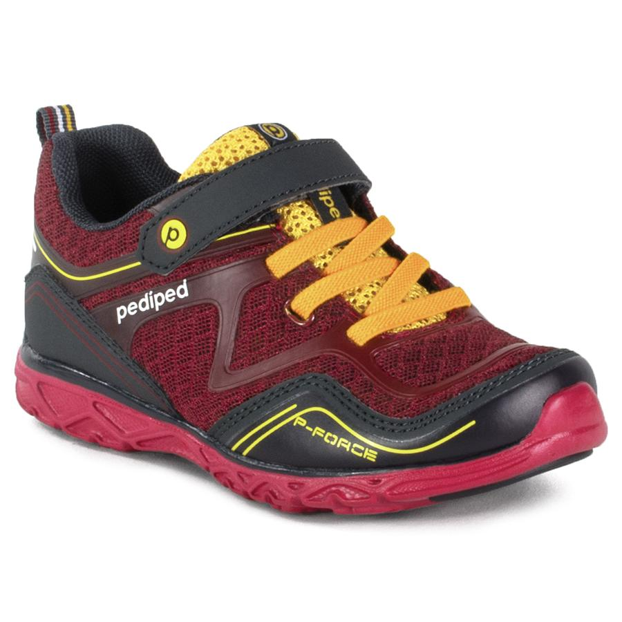 pediped flex force red yellow