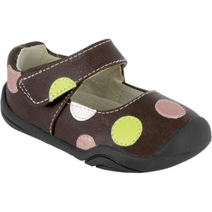 pediped grip-n-go giselle chocolate brown