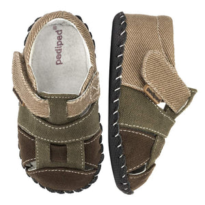 pediped originals harvey olive brown