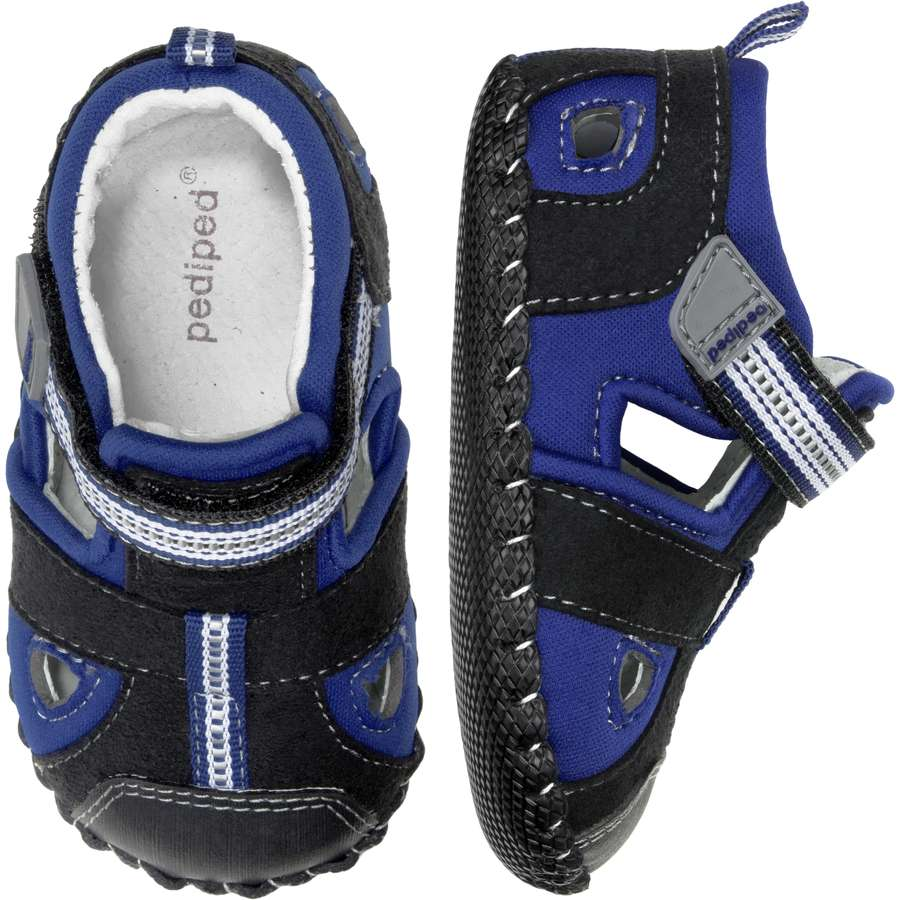 pediped originals sahara black king blue